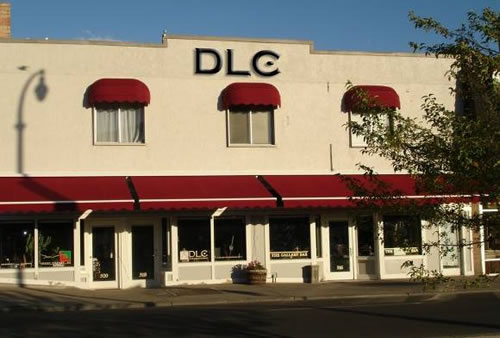 DLC gallery exterior graphic.